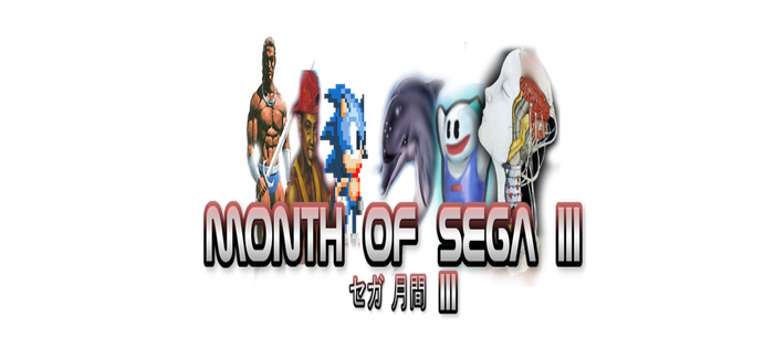 Month of Sega III: Official Logo by Royameadow