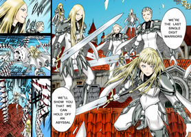 Claymore Chapter 140 Coloring by DemianDillers