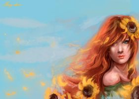 Sunflowers by May-dari