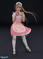 Marie Rose: Maid by SupernovaX2