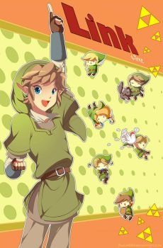 It's Link time :D by Zelbunnii