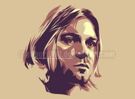 kurt cobain by gilbert86II
