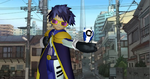 MMD Newcomer Digimon Emperor + DL by Valforwing