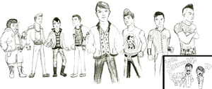 Bully: The Greasers Update Their Look +WIP+ by iheartjackie