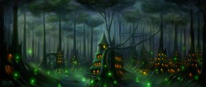 Elf-city by Maks08
