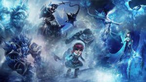 League Of Legends : Frozen Wallpaper by iamsointense