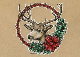 Christmas Card 2014 by M-Everham