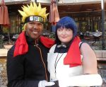 Naruto from The Last and ANBU Hinata by R-Legend