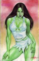 SHE-HULK by JUN DE FELIPE (05052013) by rodelsm21