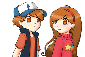 The Mystery Twins by Mikisakiiro