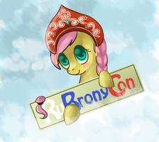 RuBronyCon Logo by Melon-Drop