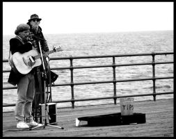 Music on the Dock of The Bay by bezman