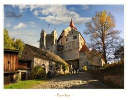 - Castle Pernstejn - by UNexperienced