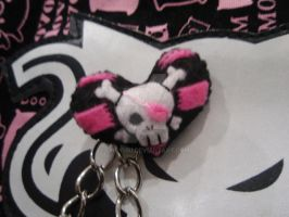 Punk Plushie Brooch by choyuki