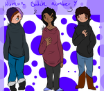 Human Adopts 4 (3/3 open!) OTA by OverLord-Adopts