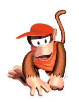 Diddy Kong by MatiZ1994