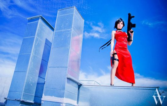 Ada Wong- Resident Evil II by Vera-Chimera