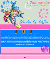 Dark Magician Girl Journal CSS (Custom) by AESD
