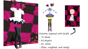 TinierMe-Inspired World is Mine oufit + DL by Scarcia-Chan