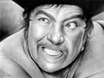 Robert Newton - Long John Silver by gregchapin