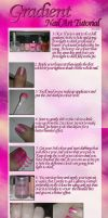 Gradient Nail Art Tutorial by JemNailArt
