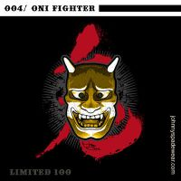 004/ ONI FIGHTER TSHIRT by johnnyspadewear
