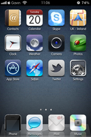 December 2011 iOS5 iPhone4 by Geordie-Boyo