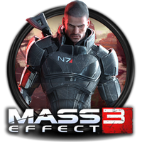 Mass Effect 3 Icon by Kamizanon
