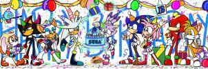 Sonic's 18th Birthday by SonicFF