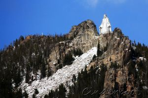 Our Lady of the Rockies by Cinderpool
