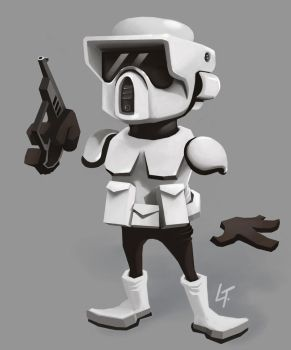 Scout Trooper by LucThijssen