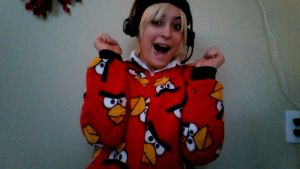 My Angry Birds Pj's by Muffinlover24