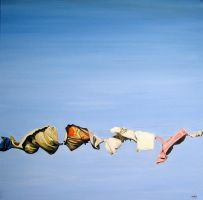 _Clothesline_ by HeatherHorton