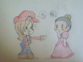 Riceballrio and PrincessLueach by Lu-WeeGee