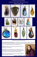 Zoria's Custom Order Profile 2014 Commissions by Zorias