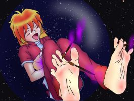 Tickled... IN SPACE by Richy17