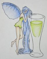 blue fairy. by happycabbage777