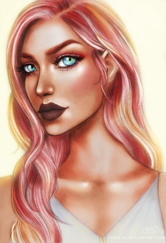 Rose Gold by Xenonia
