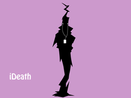 Soul Eater Ipod - Shinigami by Quiet-Lamp