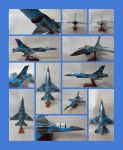 F-16 Fighting Falcon Papercraft by Mironius