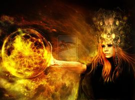 The Sorceress.. by elanordh by Realm-of-Fantasy