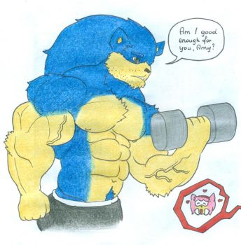 Testosterone Sonic by Tails-N-Doll