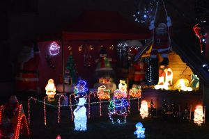 Christmas spirit house and garden decorations 3 by A1Z2E3R