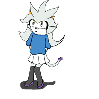 Silver and Blaze's daughter by Krispina-The-Derp