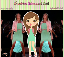Martina Stoessel Doll (en concierto) by RoohEditions