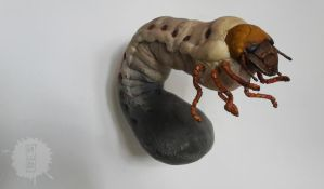 GRUB ooak art doll by hikigane