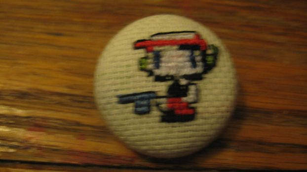 Cave Story button by Romaen