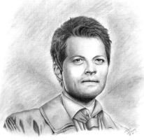 Castiel by Sillie