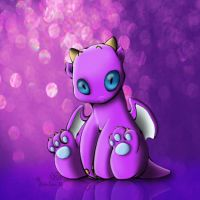 Cute Baby Dragon by Loulou13
