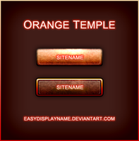 Orange Temple by easydisplayname